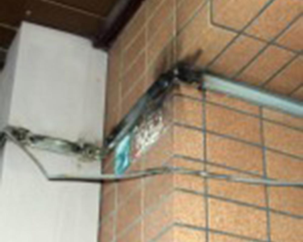 通信ケーブルの焼損例