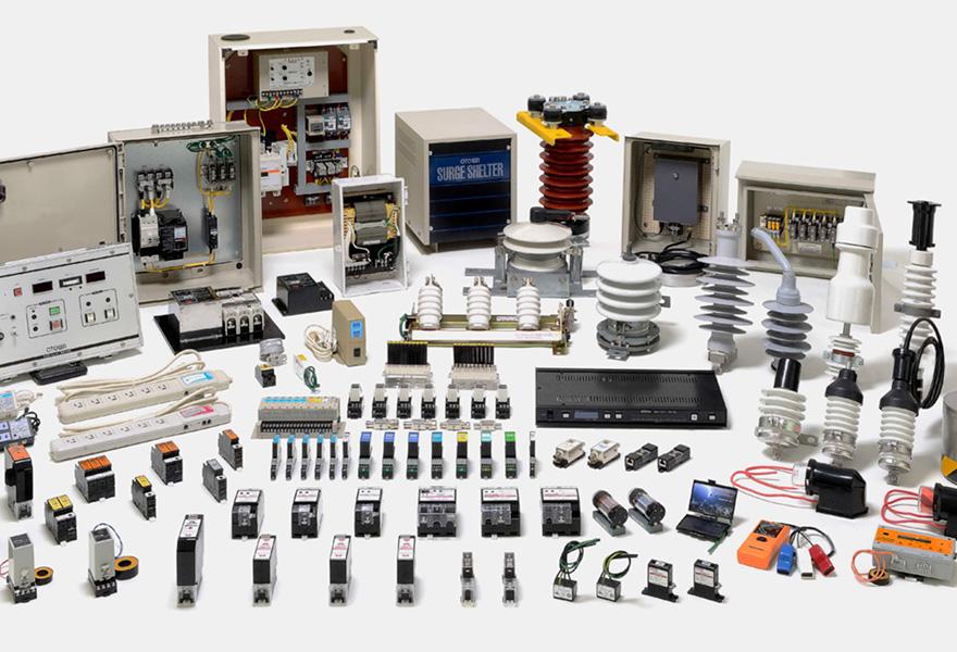 Lightning resistance measures for electrical equipment