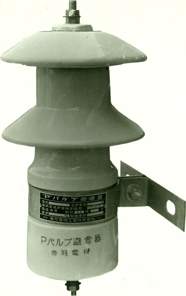 Image of P-valve lightning arrestor