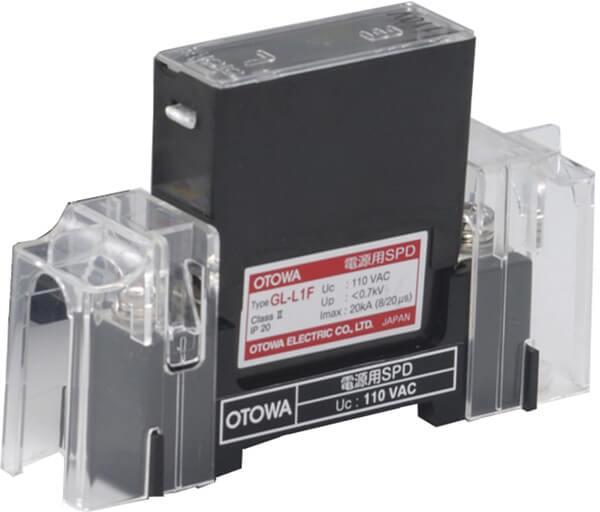 Image of LGL lightning arrester for low-voltage power supply
